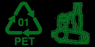 Daur Ulang Simbol Plastik 1 PET