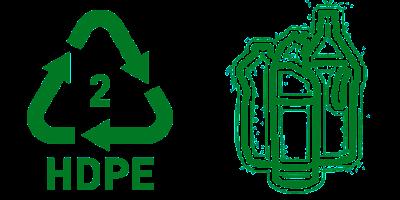 Simbol Daur Ulang Plastik 2 HDPE