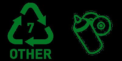 Simbol Daur Ulang Plastik 7 Other