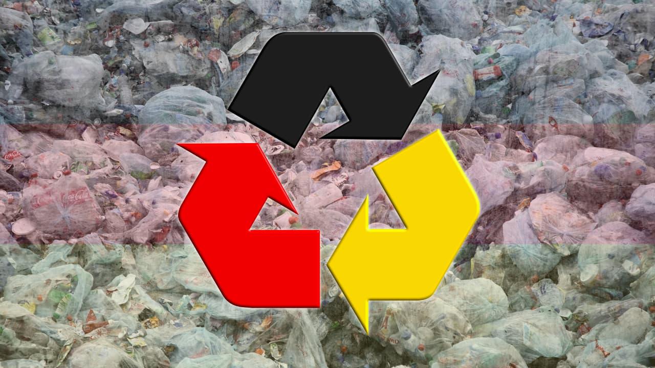 Jerman Manajemen Daur Ulang Plastik Sampah Terbaik